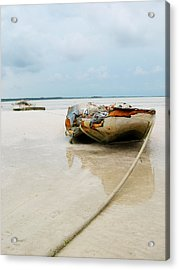 Low Tide 3 Acrylic Print by Sarah-jane Laubscher