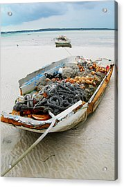 Low Tide 4 Acrylic Print by Sarah-jane Laubscher