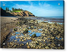 Acrylic Print featuring the photograph Low Tide. by Gary Gillette