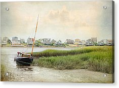 Low Tide On The Basin Acrylic Print