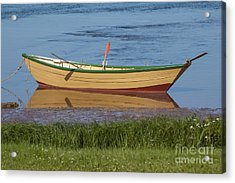 Low Tide Reflection Acrylic Print