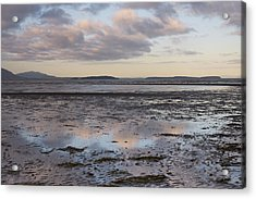 Low Tide Reflections Acrylic Print by Priya Ghose