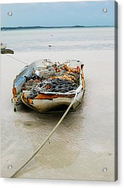 Low Tide Acrylic Print by Sarah-jane Laubscher