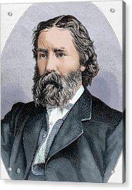 Lowell, James (1819-1891 Acrylic Print