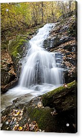 Lower Crabtree Falls Acrylic Print by David Cote
