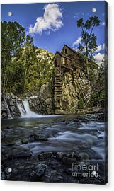 Lower Crystal Mill  Acrylic Print
