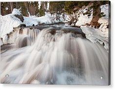 Lower Eagle Falls Above Emerald Bay Acrylic Print