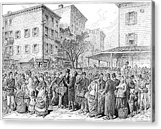 Lower East Side, 1884 Acrylic Print by Granger