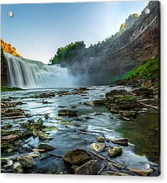 Lower Falls Genesee River Acrylic Print