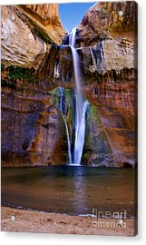 Lower Falls Of Calf Creek Acrylic Print