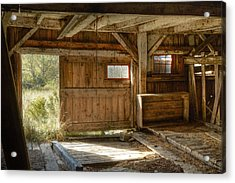 Lower Level Of The Barn Acrylic Print