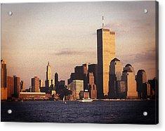 Lower Manhattan World Trade Center Acrylic Print