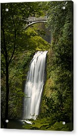 Lower Multnomah Falls Acrylic Print