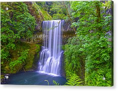 Lower South Falls Acrylic Print
