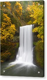 Lower South Falls Acrylic Print