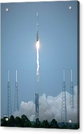Lro And Lcross Mission Launch Acrylic Print