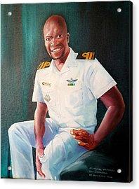 Lt Gabriel Mothobi Acrylic Print