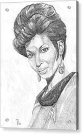 Lt. Uhura Acrylic Print