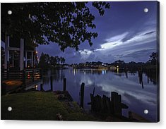 Acrylic Print featuring the digital art Lu Lu S Before The Storm by Michael Thomas