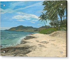 Lualualei Beach Acrylic Print