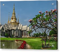 Luang Phor Toh Temple Acrylic Print by Adrian Evans