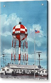 Lubbock Army Airfield Texas Acrylic Print by Tim Oliver