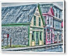 Lubec Maine Acrylic Print by Richard Bean