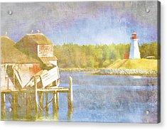 Lubec Maine To Campobello Island Acrylic Print by Carol Leigh