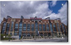 Lucas Oil Stadium Indianapolis Colts Clouds Acrylic Print