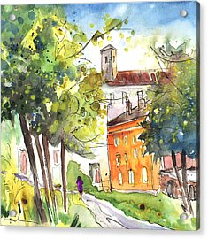 Lucca In Italy 02 Acrylic Print by Miki De Goodaboom