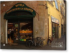 Lucca Italy Acrylic Print by Bob Christopher