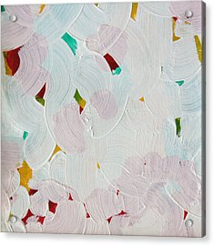 Acrylic Print featuring the painting Lucent Entanglement C2013 by Paul Ashby