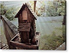 Lucid Bird House Acrylic Print