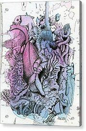 Lucid Mind - 10 Acrylic Print