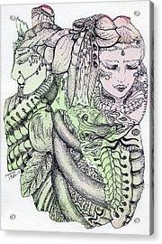 Lucid Mind - 12 Acrylic Print