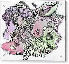 Lucid Mind - 13 Acrylic Print