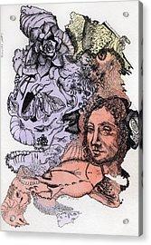 Lucid Mind - 4 Acrylic Print