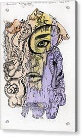 Lucid Mind - 5 Acrylic Print