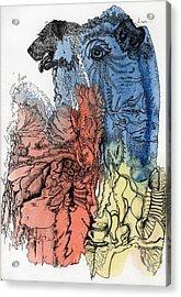 Lucid Mind - 6 Acrylic Print