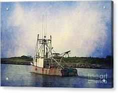 Lucky Catch Acrylic Print by A New Focus Photography
