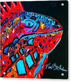 Lucky Iguana Acrylic Print