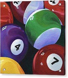 Lucky Seven Acrylic Print by Natasha Denger