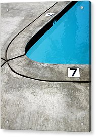 Lucky Sevens Palm Springs Acrylic Print by William Dey