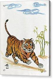 Lucky Tiger Acrylic Print