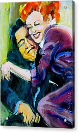 Lucy And Ricky Acrylic Print