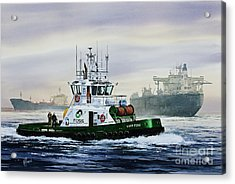 Lucy Foss Acrylic Print by James Williamson