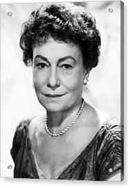 Lucy Gallant, Thelma Ritter, 1955 Acrylic Print