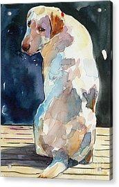 Lucy Moon Acrylic Print