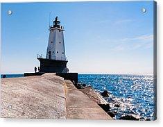 Ludington Lighthouse Acrylic Print