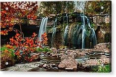Ludlowville Falls Acrylic Print